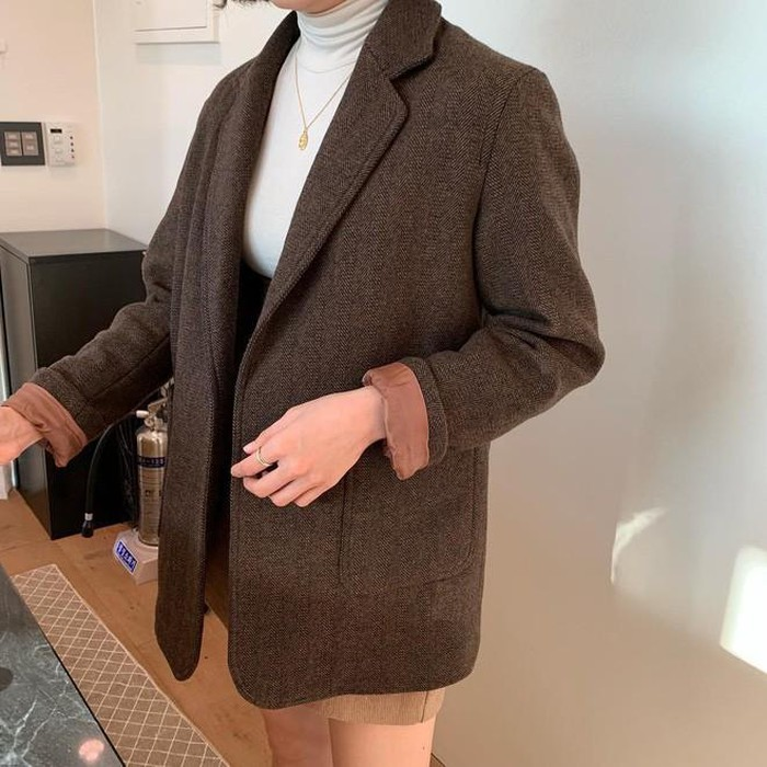 Áo khoác Blazer dạ