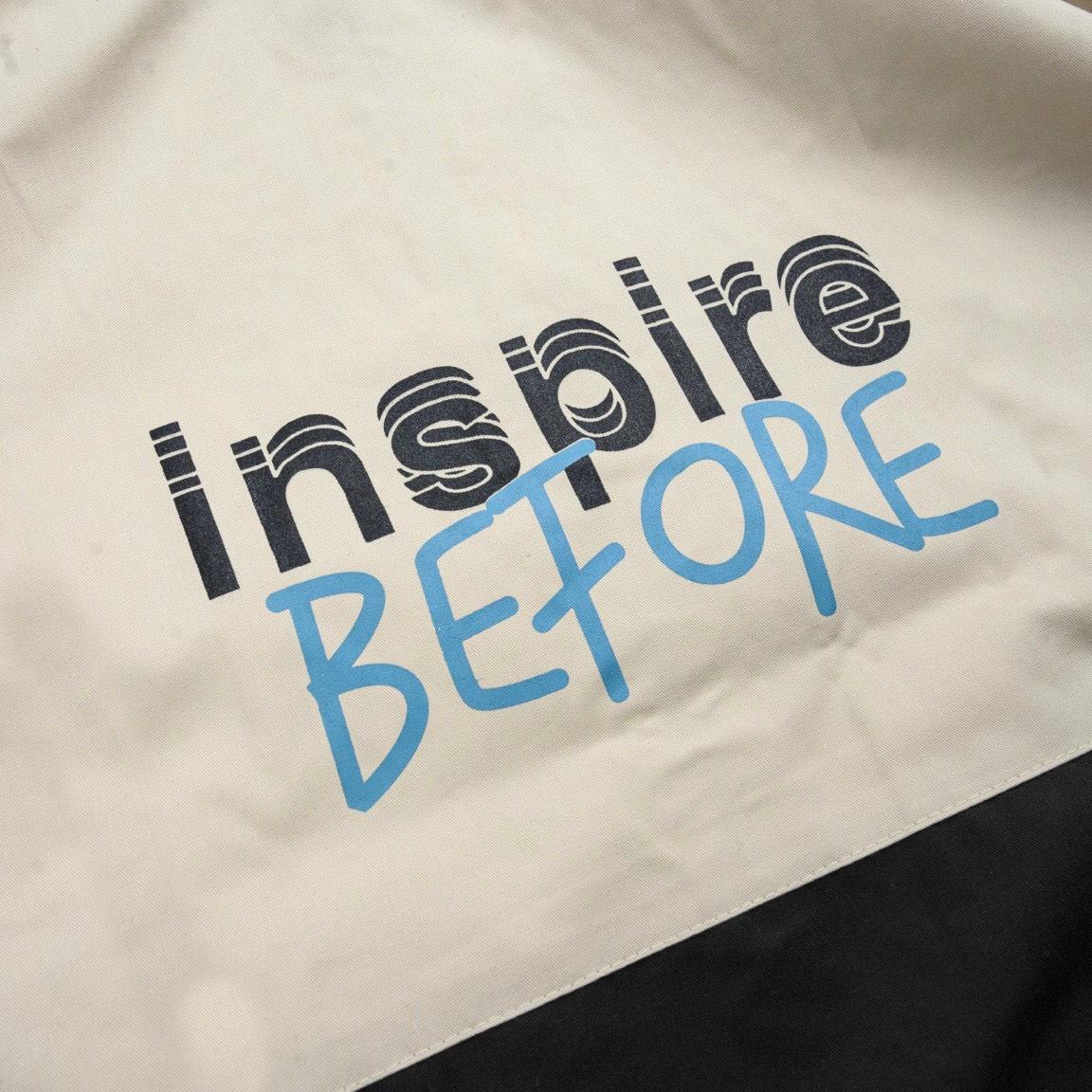 Áo khoác kaki hộp in INSPIRE chất mềm mịn bao rẻ đẹp