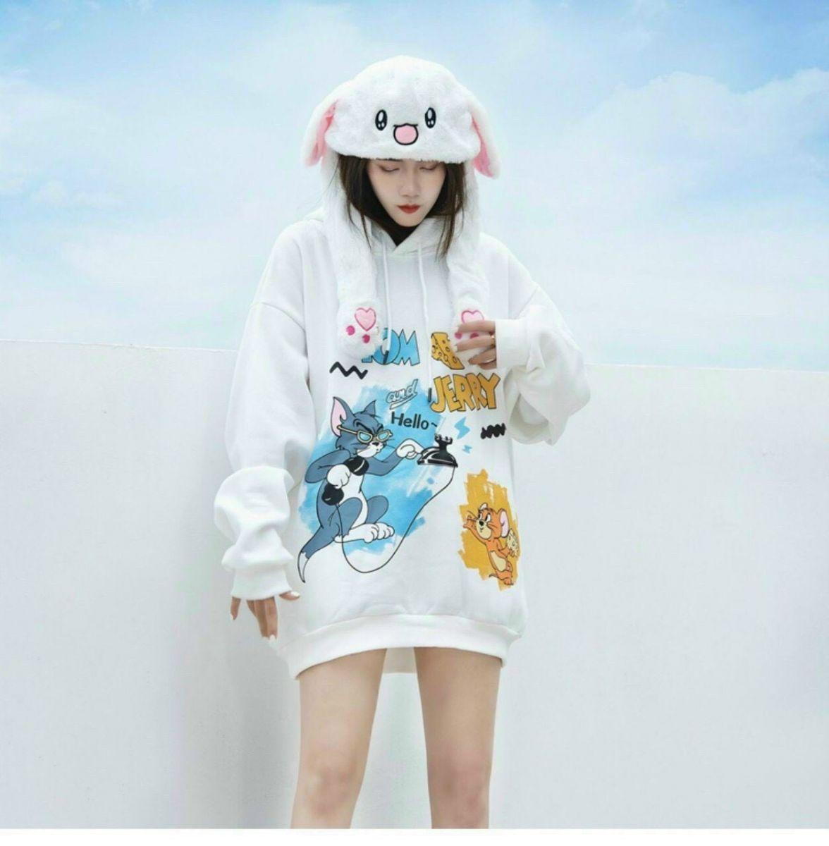 Áo hoodie nỉ ngoại in Cheese rõ đẹp giá rẻ