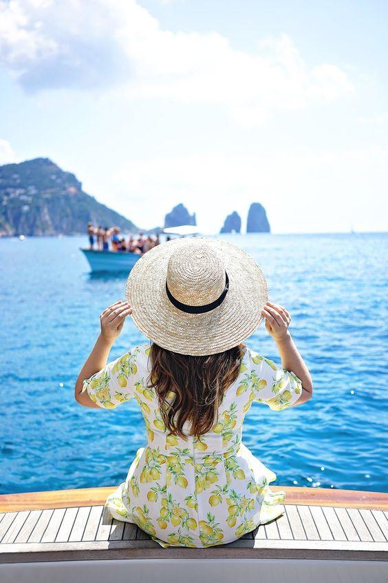 nón đi biển