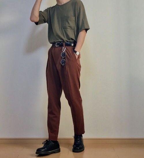 Quần ống rộng nam mặc với áo gì? Cách phối đồ chuẩn men hot trend 2021 13